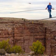 Nik Wallenda takes a risk