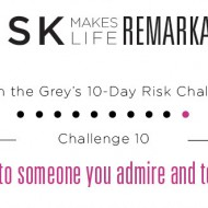 LITG Risk Makes Life Remakable Challenge