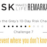 Live in the Grey Risk Challenge - Day 8