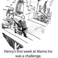 Alamo Inc. cartoon